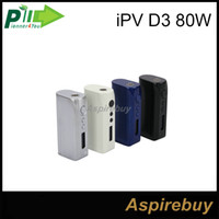100% Original Pioneer4you IPV D3 80W Boîte TC Mod YiHi Chip-Set Contrôle de la température 18650 Mods E-cigarette Match Uwell Crown Tank Arctic Turbo