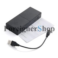 Wholesale Universal Portable Dual Battery Charger Charge BackupPower Bank mAh For GoPro HD Hero3 BT GPBC10 SP10
