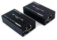 Cable utp cable cat 5e - 2014 Newest M HDMI Extender Over Single Cat e Cat UTP Cables D P Bi Directional IR D5245A