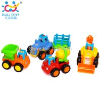 Wholesale sets Infancia Brinquedos Carrinhos e Veiculos Bebe Christmas Presentes Huile Toys Friction Power Truck