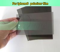 Wholesale Original For iPhone LCD Polarizer Film Polarization Polaroid Light Film for iPhone6 Polarizer black Film