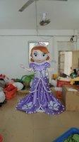 Cheap Wholesale-Hot sale new design adult mascot costume princess sofia adult sofia the first mascot costume