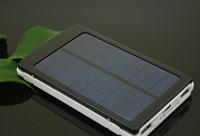 Wholesale hotselling New Solar power bank MAH Cargador Portatil Solar Power Bateria Pack Energy Bank Sun Battery Charger Powerbank