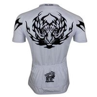 Wholesale 2015 Best Selling Limit Edition Tiger Head Cycling Jersey Shirt Paladin Mens Sport Cycle Jersey S XL Cycling Short Sleeves