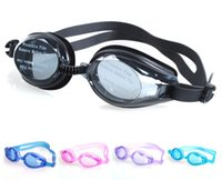 Wholesale 12pcs Professional Anti fog Swimming Goggles Optical lens Diving Equipment Goggles Waterproof UVstop Adult Unisex Swimming Goggles Glasses