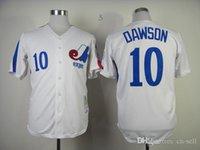 andre dawson montreal - 2015 New Baseball Mitchell Ness Jersey Montreal Expos Andre Dawson Jersey White Throwback Baseball Jersey Cheap