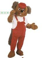 beaver plush - Beaver Mascot Costume Plush Cartoon Character Costume mascot Custom Products customized Halloween