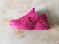 Wholesale hot black pink black red Air Huarache Women s casual shoes Discount Sneakers Breathable Running Shoes Huaraches