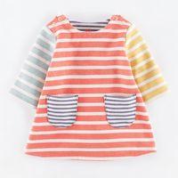 Precio de Pequeñas faldas de los niños-La caída de la falda de algodón pequeña Tong Tong vestido de princesa estilo europeo nuevos niños de los niños
