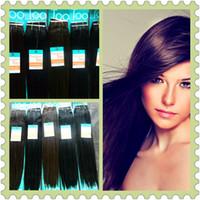 Straight yaki weave hair - 16 quot quot Premium Too hair Blended Hair Weave Machine Weft braiding hair Extension Long yaki premium Hair Straight