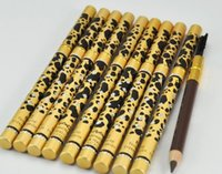 Wholesale Hot Sale Makeup New Leopard NEW Tyrant gold Professional Makeup Eyebrow Pencil Brush