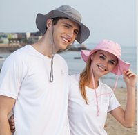 absorb humidity - Head Wear Humidity absorbing and breathable Bucket Hats man woman Sun protection hat