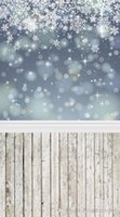 background snowflakes - Printed photography background fabric cloth snowflake backdrop ft width x ft D
