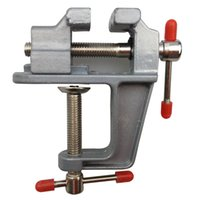 bench screw - Brand New Aluminum Alloy Table Vice Bench Screw Bench Vise for DIY Jewellery Craft Mould Fixed Repair Tool