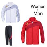 Wholesale Japan YY Lin Dan badminton Jacket Men Women badmiton long sleeve clothes badminton sports pant Badminton uniforms