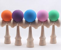 Wholesale Hot sale Big Kendama Ball Japanese Traditional Wood Game Toy Education Gift colors