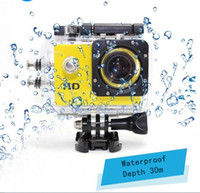 Wholesale A7 Sports digital Camera Video recorder photos camera underwater m Mini Camcorders HD P sport camera not go pro