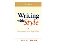 arts - Writing with Style Conversations on the Art of Writing rd Edition