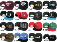 Wholesale Diamond Supply Co Snapback hats Brand new classic men women s designer baseball caps adjustable football sports hat