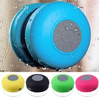 Wholesale Waterproof Wireless Bluetooth Speaker Shower Car Handsfree Receive Call Music Suction Phone Mic For iPhone Plus Samsung