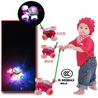 acrobatic car - Fireball acrobatics car package power with ringtone learning to walk with flash new stroller push toy