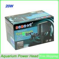 Wholesale 20W V Multifunction Submersible Pump Aquarium Power Head Fish Tank Filter Water Pump L H