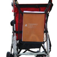 Wholesale Stylish cm Nylon Baby stroller Carrying Bag Organizer mesh bags for newborns children s Cart stroller accessories