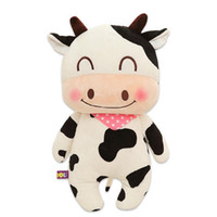 Wholesale 1pcs cm cute milk cow plush doll stuffed animal soft baby kids toy birthday christmas gift
