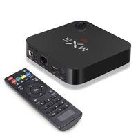 Wholesale MXIII MX3 G Android KODI Installed K Smart TV Box Rooted MX III MX Amlogic S812 Quad Core Netflix Google Play Store Media Player
