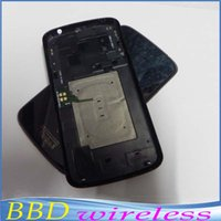 Wholesale For LG Google Nexus E960 Black Color Original Back Housing Rear Battery Door Cover With NFC