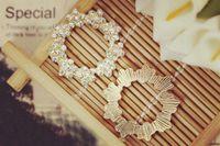 Wholesale 10pcs Fashion Zircon imitation Diamond Jewelry floating charms Plum garland Gold Plated charm Bracelet For Women diy Accessories