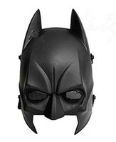 airsoft fields - Batman Mask Airsoft Cs Wargame Field Half Head Mask Protect Army Cosplay Mask gifts Black