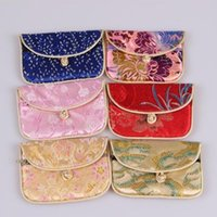 Cheap Wholesale Jewelry bag Ring bag silk gift bag multicolor coin bags chinese special little silk bags
