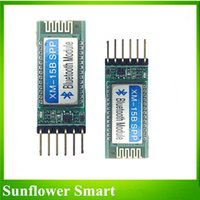 Wholesale XM B Bluetooth Serial Port Module Master Slave all in one compatible with Arduino HC and Anti reverse V