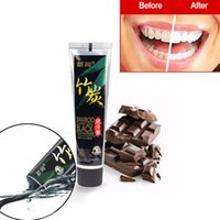 Wholesale g Bamboo Charcoal Oral Hygiene Tooth Paste Scouring Insect Resistant Teeth Whitening amp Black Toothpaste