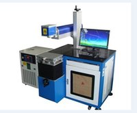 Wholesale Semiconductor Metal Laser Marking Machine Semi conductor side pumped YAG machine for Metal and partial non metallic materials