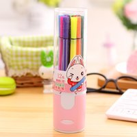 Wholesale Pink Watercolor Pen Children s Painting Stationery Color Washable Pen SN033