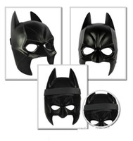 airsoft parties - Real Airsoft Mask Darth Vader Halloween Costume Party Mask Cartoon Simulation Male Adults Batman Black Plastic And Half Face