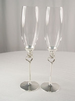Wholesale Hot selling pair wedding glass champagne flute goblet lovers cup red wine cup home decoration