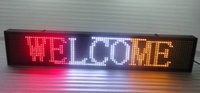 led display board - 2016 Hot Sale Graphics Semi outdoor p10 Led Sign Moving Board Programmable Display cmX20cm red white yellow colour