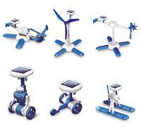 Wholesale 2015 new generation in Creative DIY Education Learning Power Solar Robot Kit Children Toys Children s best Gift