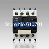 Wholesale AC Contactor Motor Starter Relay LC1 CJX2 P NO V Coil A KW