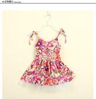 Cheap girls princess dress Best printing Dress