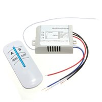 Wholesale New Arrival ON OFF Ways Digital Wireless Wall Lamp Switch Remote Controller Receiver Transmitter V