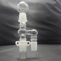 adapter concentrates - 18mm Glass Reclaimer Glass Adapter for Glass bong Water Pipe Come with removable bottom jar for easy concentrated wax reclaim cleaning