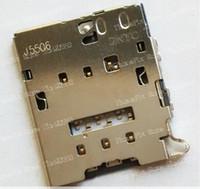Wholesale Original new SIM card reader for Samsung S6 EDGE G920V G920A G920P G920F G9200 G9250 G925F connector module