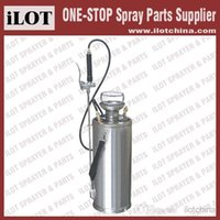 agriculture sprayers - iLOT L Agriculture and Industry pressure inox sprayer Stainless Steel Compression Sprayer with pressure gauge