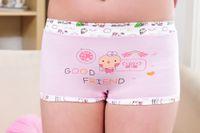 Wholesale Cotton underwear superior quality free postage children pants Lingerie Briefs Female