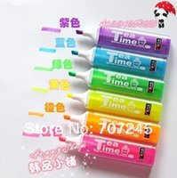 Wholesale Free ship pc Tea time candy colored highlighters pen key questions show pen order lt no tracking