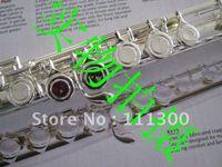 Wholesale best Japan s suzuki silver flutes hole closed pore C tone in stock